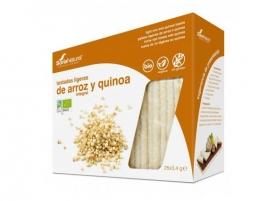 Toast din orez si quinoa ecologic