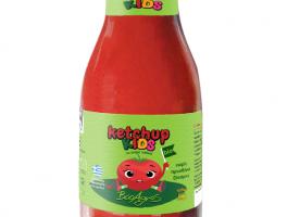 Ketchup pentru copii, fara zahar, eco
