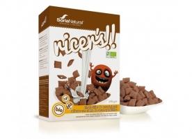 Pernite de ciocolata, fara gluten eco