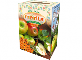 Suc de mere cu catina ecologic, 3L