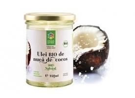Ulei de cocos bio presat la rece Santo